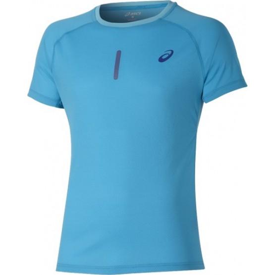 Футболка ASICS Short-Sleeve Top голубая мужская