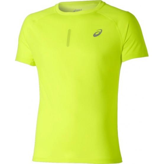 Футболка ASICS Short-Sleeve Top желтая мужская