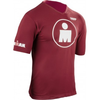 Беговая футболка Compressport MDOT IRONMAN мужская