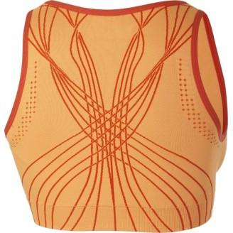 Футболка ASICS Fit-Sana Seamless Bra оранжевая женская