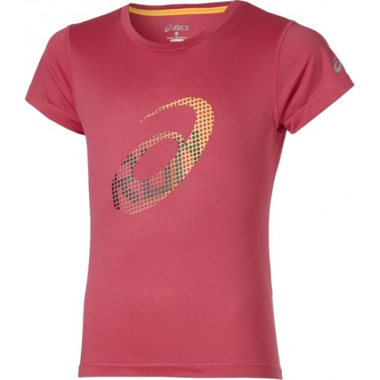 Футболка ASICS Short Sleeve T-Shirt розовая женская