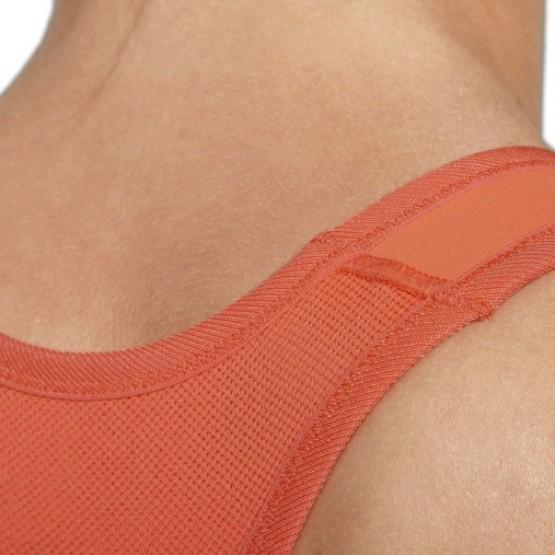 Футболка ASICS Sports Bra оранжевая женская