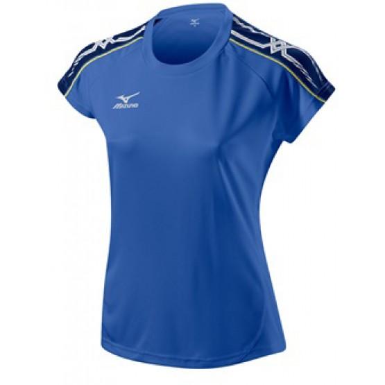 Футболка Mizuno Women's Tee 211 синяя женская
