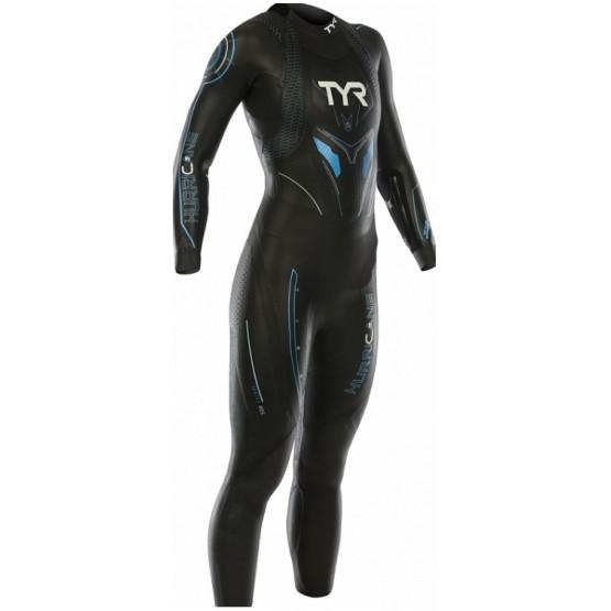 Гидрокостюм для открытой воды TYR Wetsuit Female Hurricane Cat 5 женский