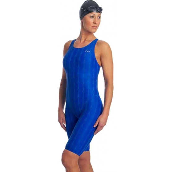 Гидрокостюм TYR Fusion 2 Aerofit Short John синий женский