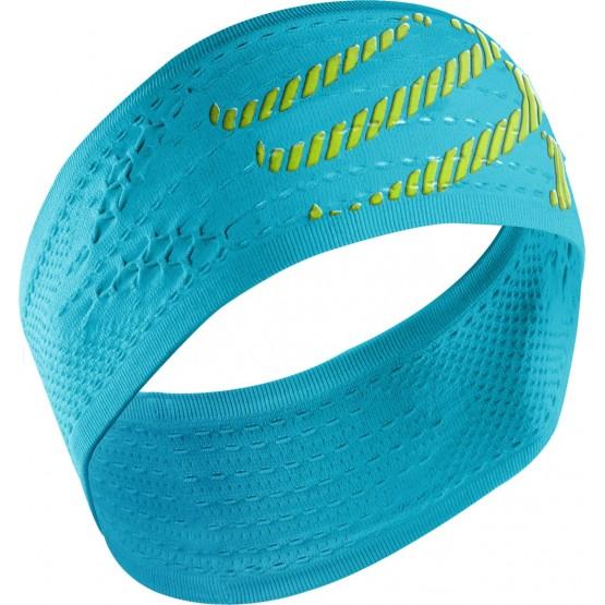 Повязка Compressport Headband On/Off голубая