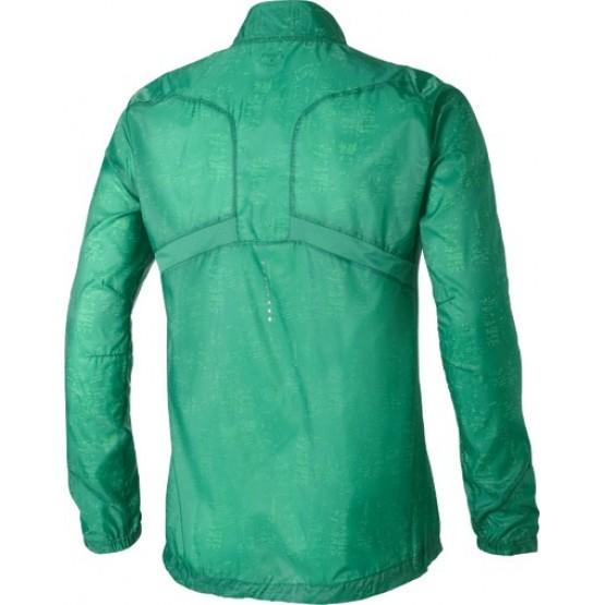 Ветровка ASICS Lightweight Jacket зеленая мужская