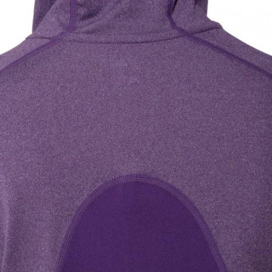 Толстовка ASICS Fujitrail Hoodie фиолетовая женская