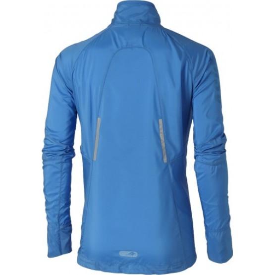 Куртка ASICS Fujitrail Jacket синяя женская