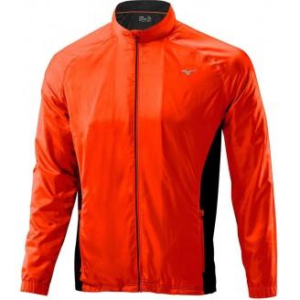 Куртка Mizuno Breath Thermo Jacket оранжевая мужская