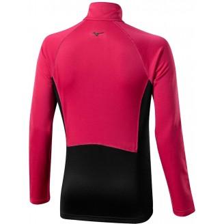 Толстовка Mizuno Breath Thermo Fleece Jacket розовая женская