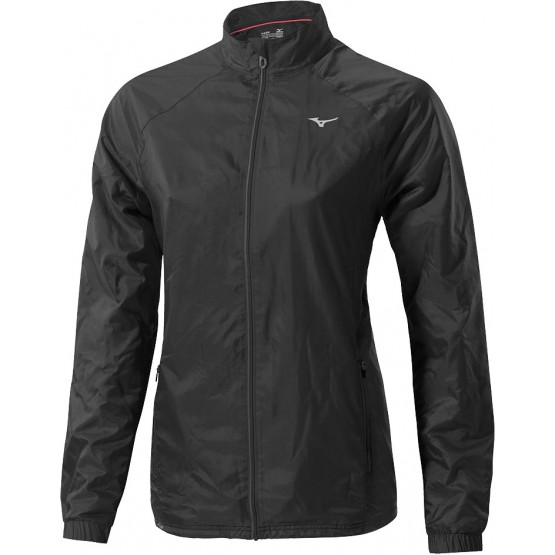 Куртка Mizuno Breath Thermo Jacket черная женская