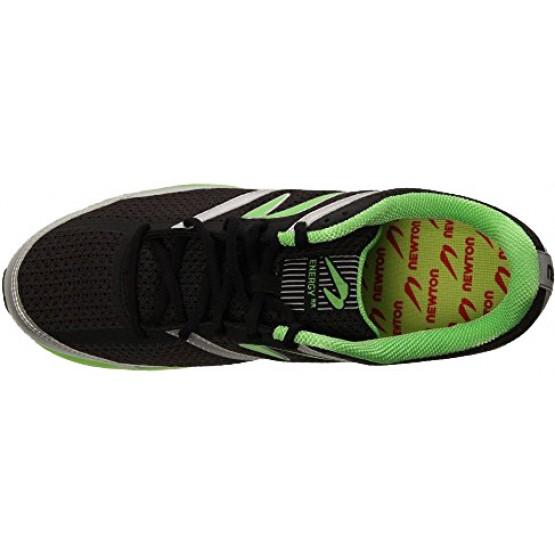Кроссовки Newton Men's  Energy черно-зеленые мужские