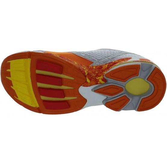 Кроссовки NEWTON Motion Stability Performance Trainer серебристо-оранжевые мужские
