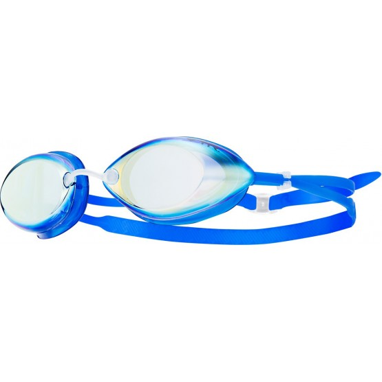 Очки для плавания TYR Tracer Racing Mirrored голубые