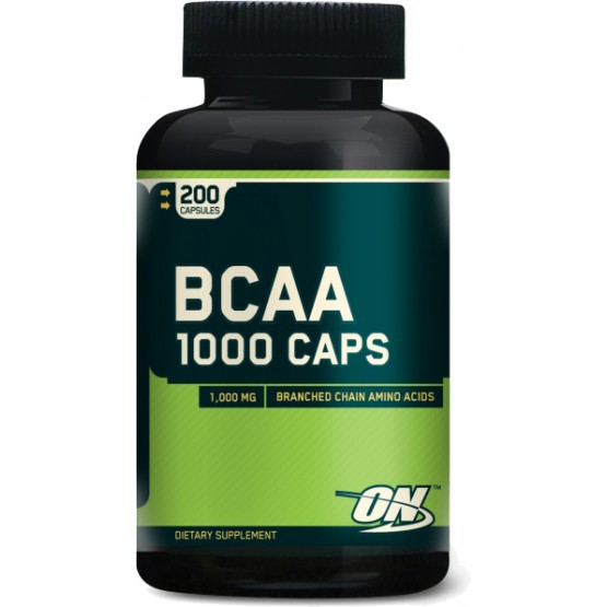 Bcaa в капсулах (200 шт.) Optimum Nutrition BCAA 1000