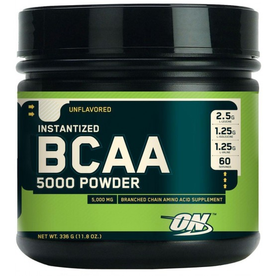 Bcaa (380 гр.) Optimum Nutrition BCAA 5000 Powder