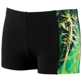 Плавки Arena Drafty Short черно-зеленые