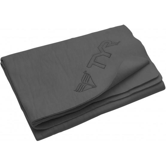 Полотенце TYR Large Dry Off Sport Towel серое