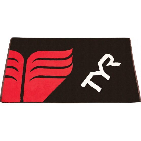 Полотенце TYR Towelчерно-красное