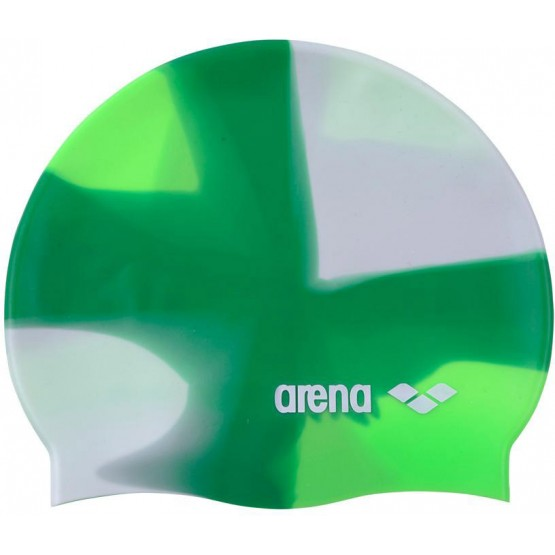 Шапочка для плавания Arena Pop Art Cap бело-зеленая