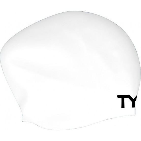 Шапочка для плавания TYR Long Hair Wrinkle Free Silicone Cap