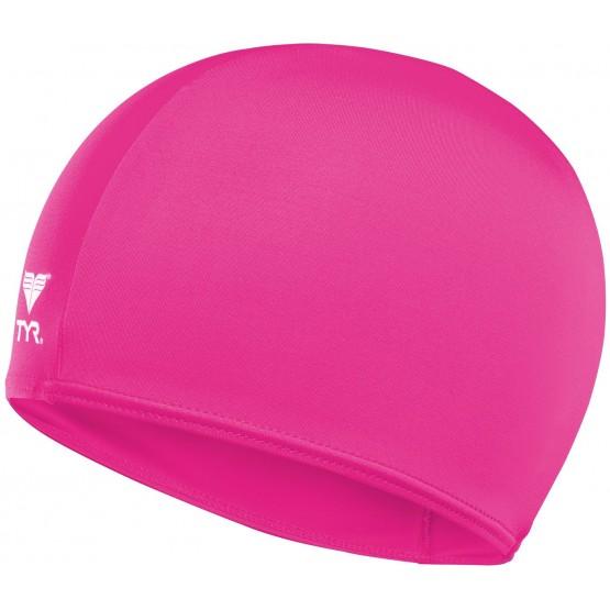 Шапочка для плавания TYR Solid Lycra Cap