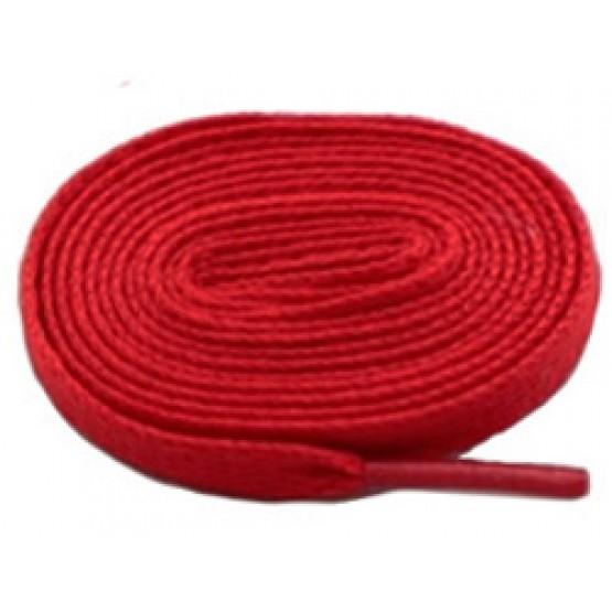 Шнурки Sports Color флуоресцентные темно-красные