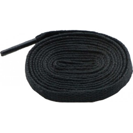 Шнурки Sports Color флуоресцентные черные