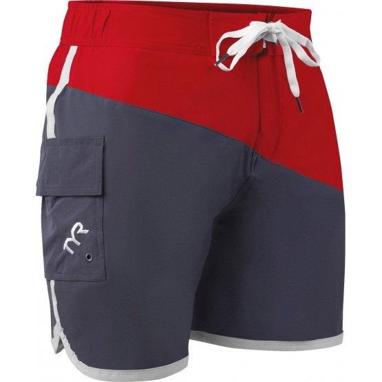Шорты TYR Bulldog Diagonal Splice Board Short мужские