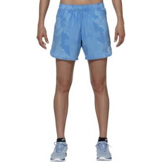 Шорты ASICS Woven Short 5.5-Inch голубые женские