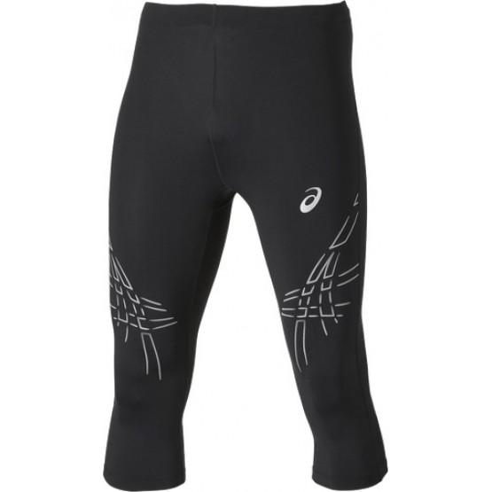 Штаны ASICS Asics Stripe Knee Tight черные/белые мужские