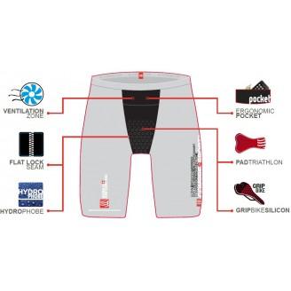 Шорты Compressport Triathlon Short мужские