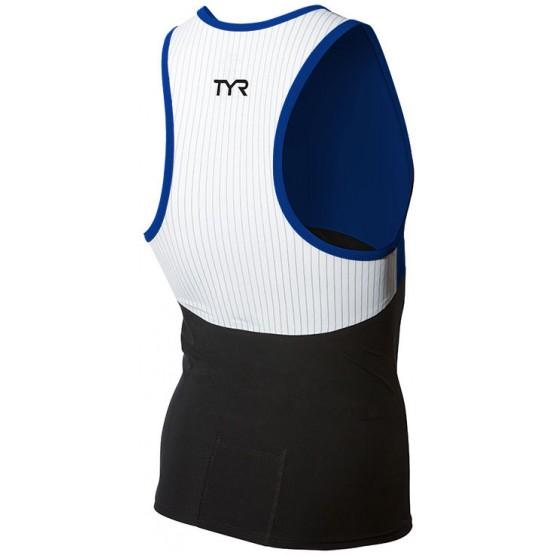 Стартовый костюм раздельный /майка TYR Carbon Triathlon Tank мужской