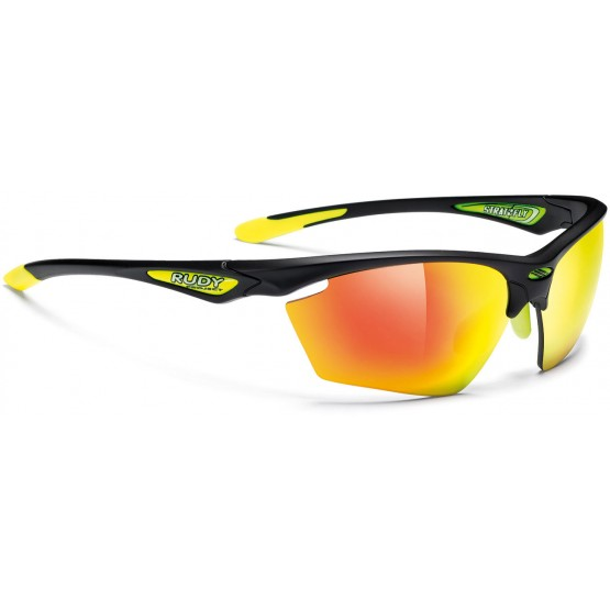 Велоочки RUDY PROJECT Stratofly Black M-MLS Orange